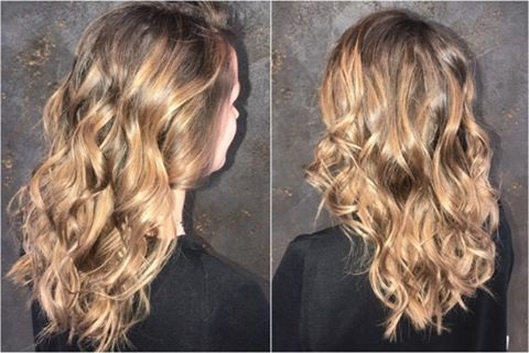 balayage californien-tie and dye- coiffeur visagiste